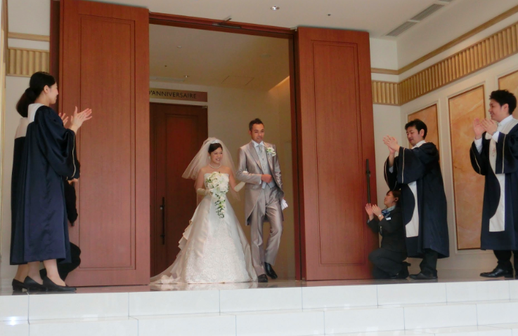 A Wedding Party! 12th, July, 2014 @Anniversaire Minatomirai