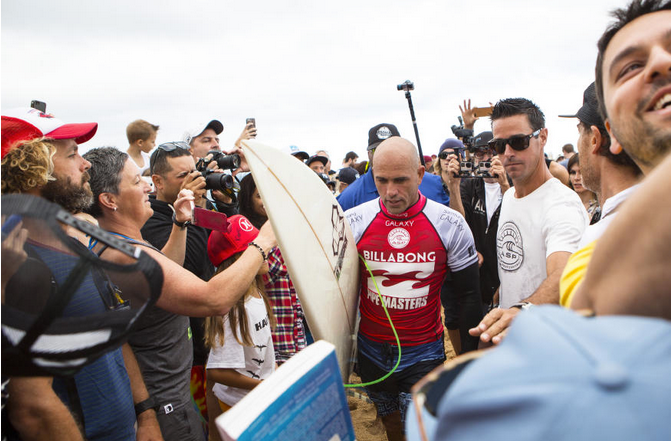 Kelly Slater(USA).