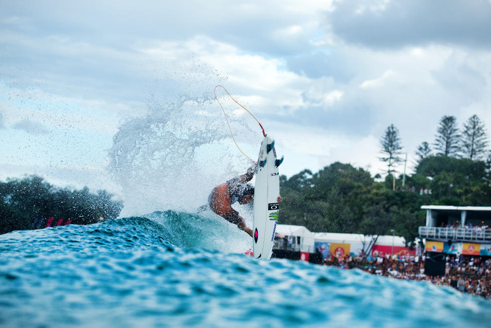 Filipe Toledo (BRA) in Quiksilver Pro Final. - WSL
