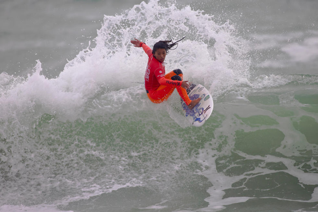 Mahina Maeda (HAW) .Ericeira Junior 2016 - WSL / Laurent Masurel