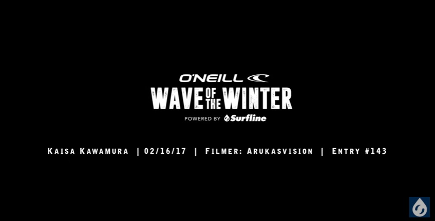 O'Neill Wave of the Winter