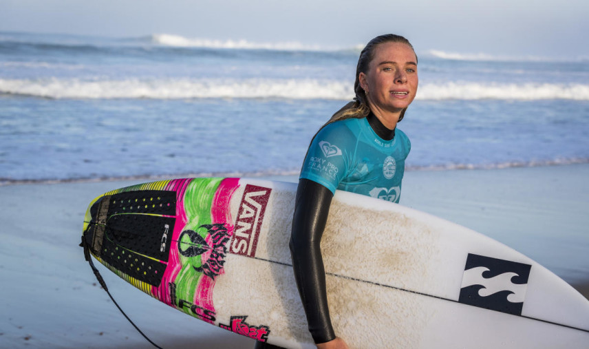 Macy Callaghan WSL / Damien Poullenot