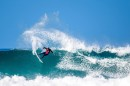 surfs at JBay in Jeffreys Bay, South Africa on July 13, 2019