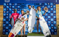 Podiums Winners of  the Cabreiroa Pro Las Americas 2020